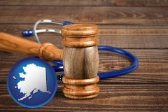 ak gavel and stethoscope